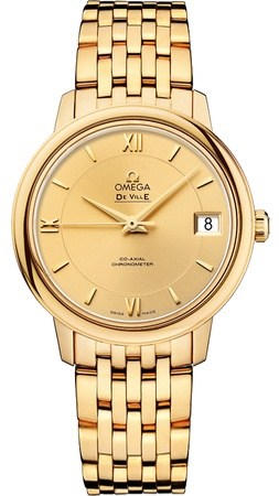Omega De Ville Prestige Co-Axial 32.7mm  Women's Watch 424.50.33.20.08.001