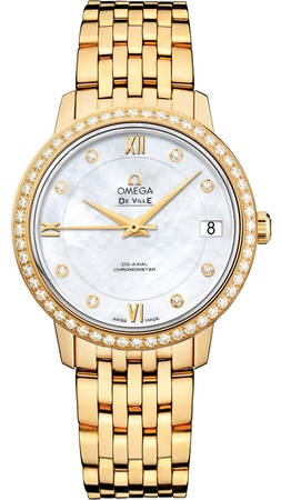 Omega De Ville Prestige Co-Axial 32.7mm  Women's Watch 424.55.33.20.55.001