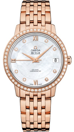 Omega De Ville Prestige Co-Axial 32.7mm  Women's Watch 424.55.33.20.55.002