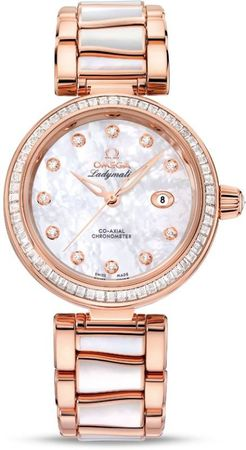 Omega De Ville Ladymatic   Women's Watch 425.65.34.20.55.007