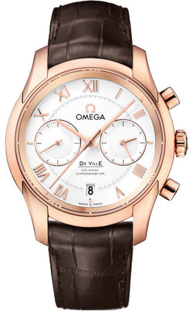 Omega De Ville Prestige Co-Axial Chronograph  Men's Watch 431.53.42.51.02.001