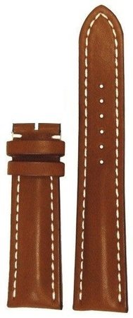 Breitling Leather 24-20mm Gold Calfskin Men's Strap 439X