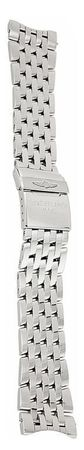 Breitling Steel 24-20mm Navitimer Steel Band Men's Bracelet 453A