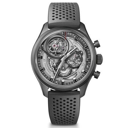 Zenith El Primero Tourbillon Chronograph Skeleton Men's Watch 49.2520.4035/98.R576
