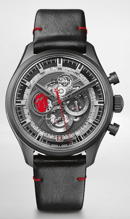 Zenith El Primero  Skeleton Tribute To The Rolling Stones Men's Watch 49.2521.400/98.C755