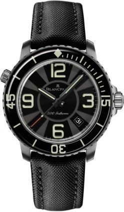 Blancpain Fifty Fathoms 500 Fathoms/Limited Edition  Men's Watch 50015-12B30-52B