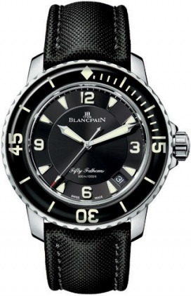 Blancpain Fifty Fathoms Automatic  Men's Watch 5015-1130-52