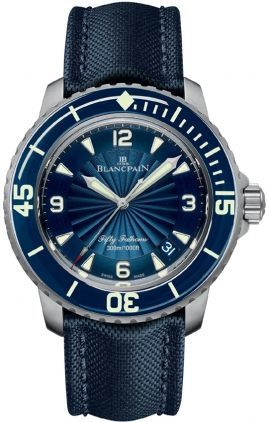 Blancpain Fifty Fathoms Automatic  Men's Watch 5015D-1140-52B