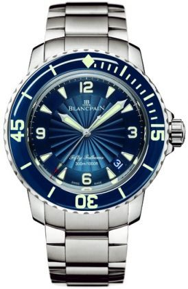 Blancpain Fifty Fathoms Automatic  Men's Watch 5015D-1140-71B