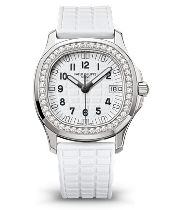 Patek Philippe Aquanaut  Pure White Diamond Dial Women's Watch 5067A-024