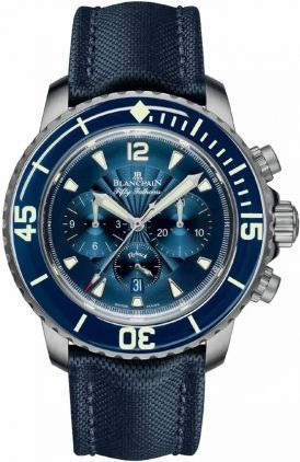 Blancpain Fifty Fathoms Flyback Chronograph  Men's Watch 5085FB-1140-52B