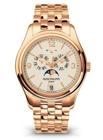 Patek Philippe Annual Calendar Moonphase  18K Rose Gold Men's Watch 5146/1R-001