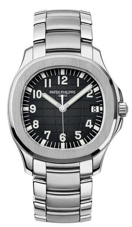 Patek Philippe Aquanaut  Automatic Black Dial Steel Men's Watch 5167/1A-001