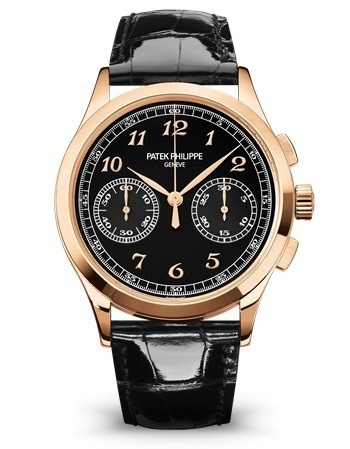 Patek Philippe Complications  Black Chronograph Dial Men's Watch 5170R-010