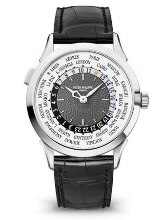Patek Philippe Complications World Time White Gold Men's Watch 5230G-001