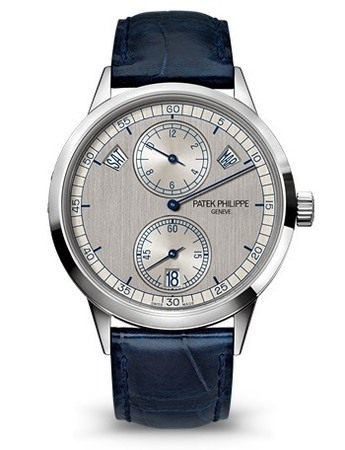 Patek Philippe Complications Annual Calendar Silver Dial 18K White Gold Men's Watch 5235G-001