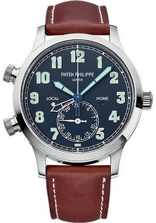 Patek Philippe Calatrava  Pilot Travel Time Men's Watch 5524G-001