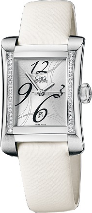 Oris Miles Rectangular Date  Women's Watch 56176214961LS