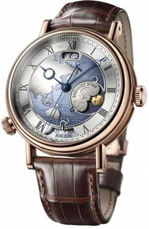"Breguet Classique  Hora Mundi ""ASIA & OCEANIA CONTINENTS VERSION"" Men's Watch 5717br/as/9zu"
