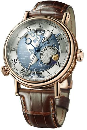 Breguet Classique  Hora Mundi Men's Watch 5717BR/US/9ZU