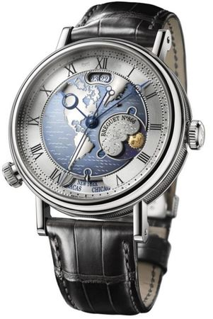 Breguet Classique  Hora Mundi Men's Watch 5717PT/US/9ZU