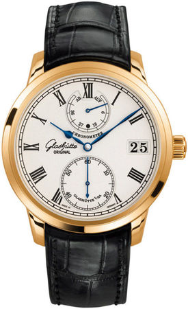 Glashutte Original Quintesssentials Senator  Chronometer  Men's Watch 58-01-01-01-04