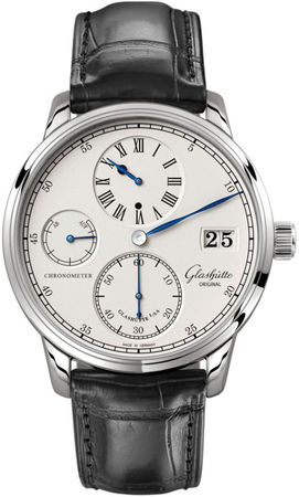 Glashutte Original Quintesssentials Senator  Chronometer  Regulator  Men's Watch 58-04-04-04-04