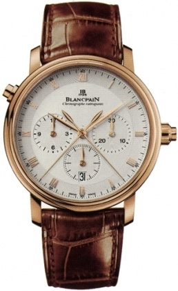 Blancpain Villeret Automatic Chronograph  Men's Watch 6086-3642-55B