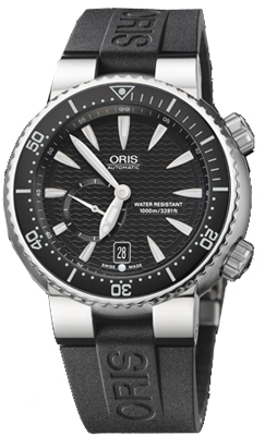 Oris Titan Divers  Small Second Date Men's Watch 64376377454RS