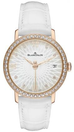 Blancpain Ladies' Collection Ladies Ultra Slim Automatic  Women's Watch 6604-2944-55A