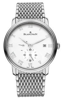 Blancpain Villeret Power Reserve Mechanical  Men's Watch 6606-1127-MMB
