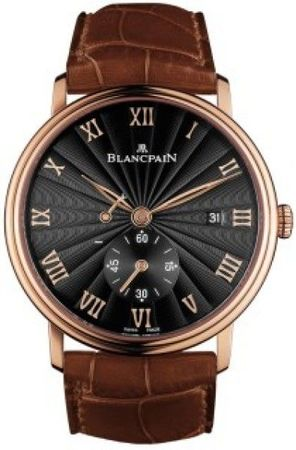Blancpain Villeret Power Reserve Mechanical  Men's Watch 6606-3630-55B