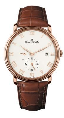 Blancpain Villeret Manual Winding  Men's Watch 6606-3642-55B