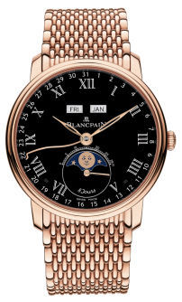 Blancpain Villeret Complete Calendar 8 Jours  Men's Watch 6639-3637-MMB