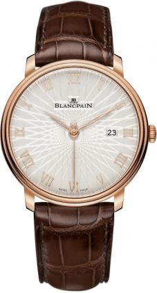 Blancpain Villeret Ultra Slim Automatic  Men's Watch 6651C-3642-55A