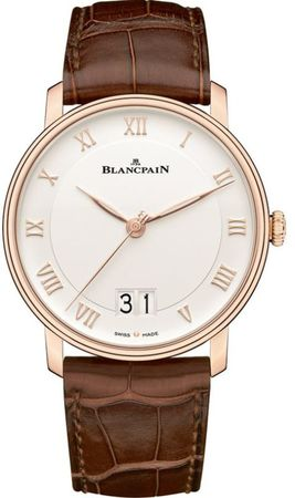 Blancpain Villeret Automatic Grande Date Men's Watch 6669-3642-55B