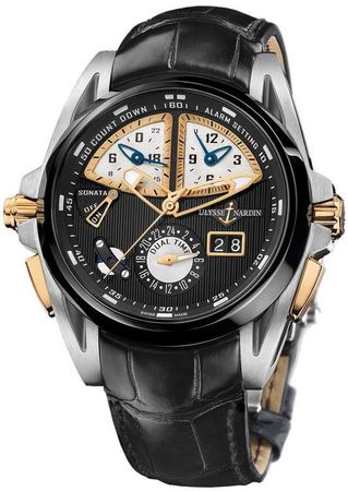 Ulysse Nardin Sonata Streamline  Men's Watch 675-00