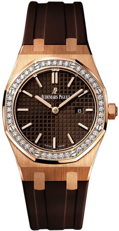 Audemars Piguet Royal Oak Quartz  Women's Watch 67651OR.ZZ.D080CA.01