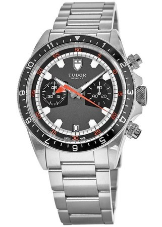 Tudor Heritage  Chronograph Grey Dial Men's Watch 70330N-0001