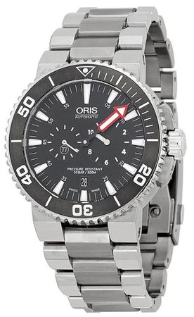 Oris Aquis Regulateur Der Meistertaucher  Men's Watch 74976777154Set