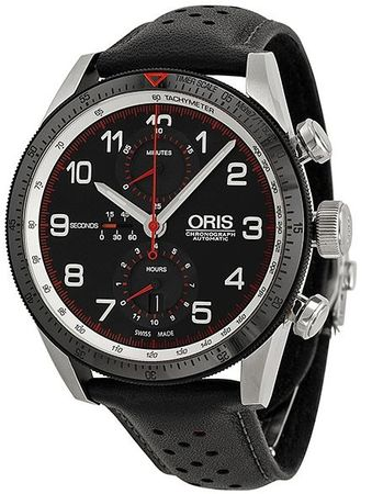Oris Artix Chronograph Calobra Limited Edition Men's Watch 77476614484SET