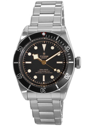 Tudor Heritage Black Bay Steel Black Dial Automatic Steel Men's Watch 79230N-0002