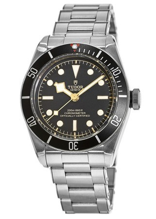 Tudor Heritage Black Bay  Black Dial Automatic Steel Men's Watch 79230N-0002-PO
