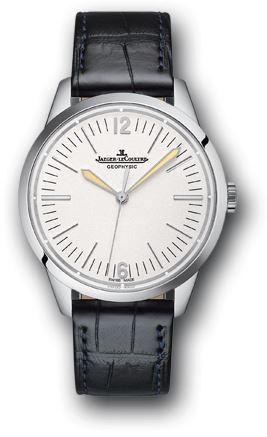 Jaeger lecoultre 800652j geophysic platinum men 39 s watch for Geophysic watches