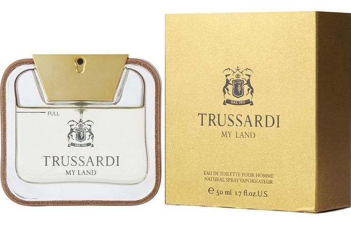 Trussardi Cologne  My Land EDT Spray 1.7 oz Men's Fragrance 8011530830014