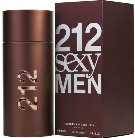 Carolina Herrera Cologne  212 Sexy Men EDT Spray 3.4 OZ Men's Fragrance 8411061602522