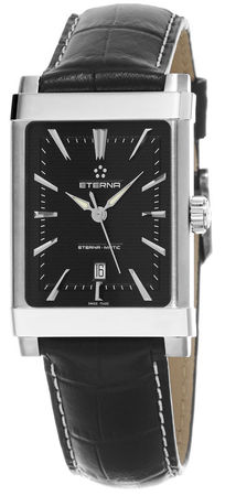 Eterna 1935  Swiss Automatic Black Leather Unisex Watch 8491.41.41.1117D