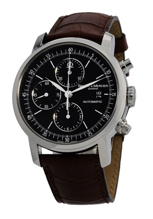 Baume & Mercier Classima Executives  Automatic Black Chronograph Men's Watch 8589