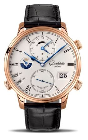Glashutte Original Art & Technik Senator Cosmopolite  Men's Watch 89-02-01-05-30