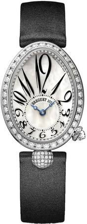 Breguet Reine de Naples Automatic Mother of Pearl Diamond Dial Women's Watch 8928BB/5W/844.DD0D